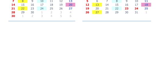 オトイック年間スケジュール2020.4-7
